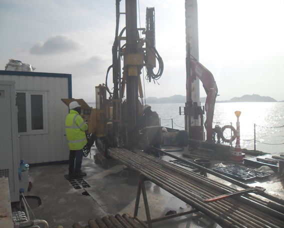 Boring and Core Drilling (Off-Shore & On Land)